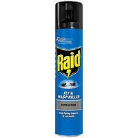 Raid Fly & Wasp Killer Aerosol - 300ml