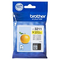 Brother LC3211Y Yellow Inkjet Cartridge