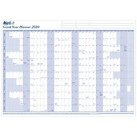 Mark-it 2020 Giant Year Planner - Unmounted