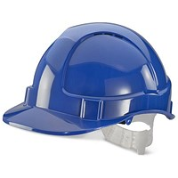 B-Brand Economy Vented Safety Helmet - Blue