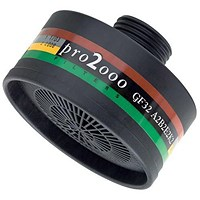 Scott Pro 2000 GF32 ABEK2 Filter, 40mm Thread, Black