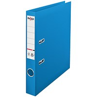 Rexel Choices A4 Lever Arch File, Plastic, 50mm Spine, Blue