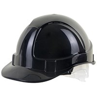 B-Brand Economy Vented Safety Helmet - Black