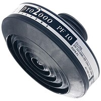 Scott Pro 2000 PF10 P3 Filter, 40mm Thread, Black