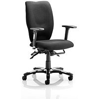 Sonix Executive Operator Chair - Black