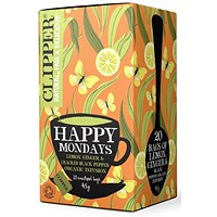Clipper Organic Fairtrade Happy Monday Tea Bags - Pack of 20