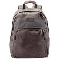 Pride and Soul Sensation Laptop Backpack, 15 inch Capacity, Grey/Brown