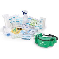 Click Medical Personal Sports First Aid Kit in Bumbag