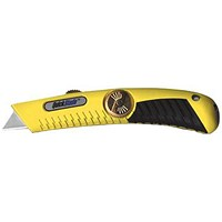 Pacific Handy Cutter Quickblade Retractable Knife, Heavy Duty, Yellow