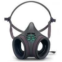 Moldex Mask Body, Twin Filter Low Profile, Large, Grey