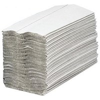 Maxima 5052 C-Fold Hand Towels, Recycled, 2-Ply, White, 15 Sleeves of 160 Towels