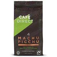 Cafe Direct Machu Picchu Peru Fairtrade Roast and Ground Coffee - 227g