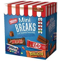 Nestle Mini Breaks Mixed Assorted - Pack of 24