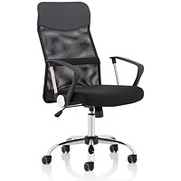 Trexus Vegalite Executive Mesh Chair, Black