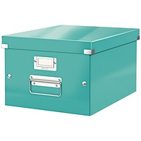 Leitz Click & Store Medium Storage Box for A4 - Ice Blue