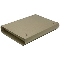 Rigid Corrugated Postal Wrapper, Large, 330x270x50mm, Brown, Pack of 25