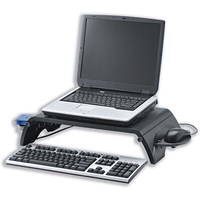 Monitor Stand for Laptops with 15-17 inch Screens, Collapsible Platform, W380xD305
