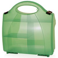 Click Medical 850 Eclipse Box Without Partitions, Small, Green