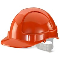 B-Brand Economy Vented Safety Helmet - Orange