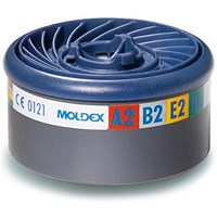 Moldex ABEK2 7000/9000 Particulate Filter, EasyLock System, Blue, Pack of 4