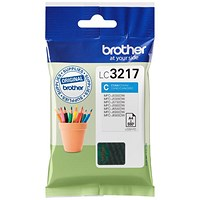 Brother LC3217C Cyan Inkjet Cartridge