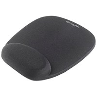Kensington Foam Mouse Pad & Wristrest Black