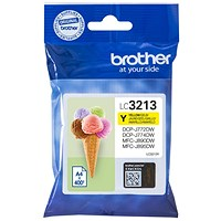 Brother LC3213Y Yellow High Yield Inkjet Cartridge