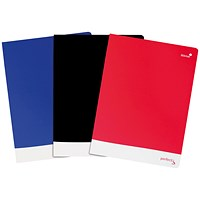 Silvine Notebook Soft Velvet Cover / A4 / 160 Pages / Assorted / Pack of 6