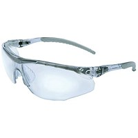 JSP Cayman Safety Spectacles, Adjustable with Cord, Clear
