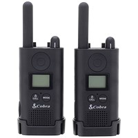 Cobra PU 500 Pro Business Two Way Radios 16 Preset Channels Range 8km Pair Ref PU500B+SV-01