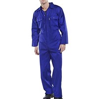 Click Workwear Regular Boilersuit, Size 46, Royal Blue