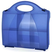 Click Medical 851 Eclipse Box With Partitions - Blue
