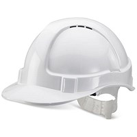 B-Brand Economy Vented Safety Helmet - White