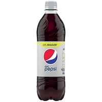 Diet Pepsi - 24 x 600ml Bottles