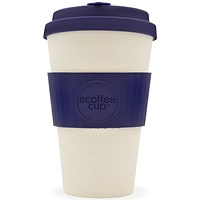 Ecoffee Eco 14oz Nature Cup - Blue