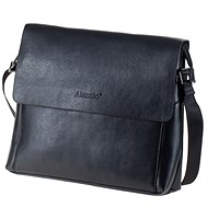 Alassio M Shoulder Bag - Black