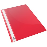 Rexel Choices A4 Report Folders, Red, Pack of 25