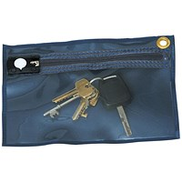 Tamper Evident Key Wallet 230x152mm Blue