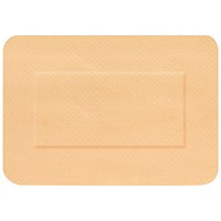Click Medical Waterproof Large Patch Plasters, 72 x 50mm, Pack of 50