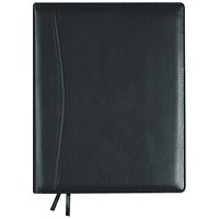 Collins 2020 Elite Executive Appointment Diary, Day to a Page, Wirobound, 164x246mm, Black