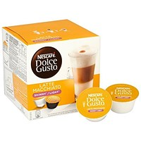 Nescafe Skinny Latte Capsules for Dolce Gusto Machine - Pack of 48