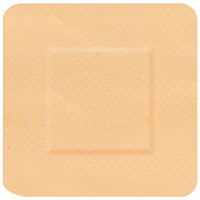 Click Medical Waterproof Square Plasters, 38 x 38mm, Pack of 100