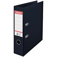 Esselte No. 1 Power A4 Lever Arch File - Black