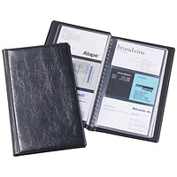 Durable Visifix Business Card Album Capacity 72 Black