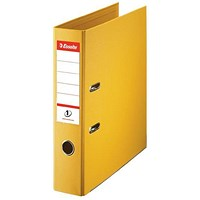Esselte No. 1 Power A4 Lever Arch File - Yellow