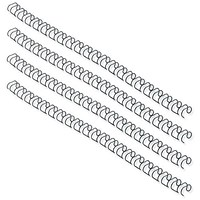 Fellowes Binding Wires, 34 Loop, 14mm, Black, Pack of 100