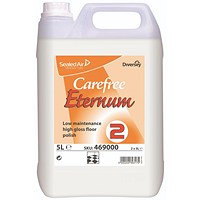 Carefree Eternum Floor Polish, Low Maintenance, High Gloss, Step Two, 5 Litres