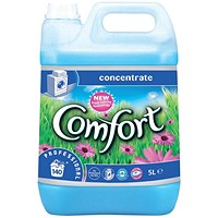 Comfort Professional Concentrated Fabric Softener, 140 Washes, 5 Litres