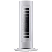 5 Star Tower Fan, Oscillating, H762mm, White, Whisper Quiet
