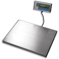 Salter Brecknell Electronic Parcel Scale Portable, 20g Increments, Capacity 60kg